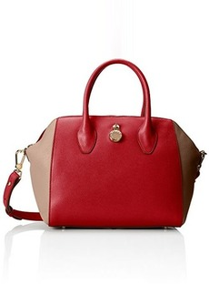 FURLA Olimpia Medium Satchel with Zip Top Handle Handbag