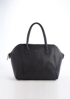 Furla onyx leather 'Alice M' satchel