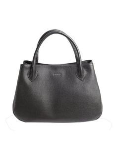 Furla onyx leather 'Giselle' large tote