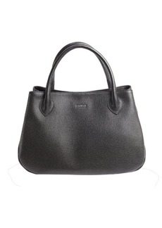 Furla onyx leather 'Giselle' large tote
