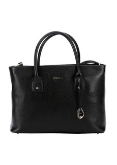 Furla onyx leather 'Josi' medium convertible tote bag