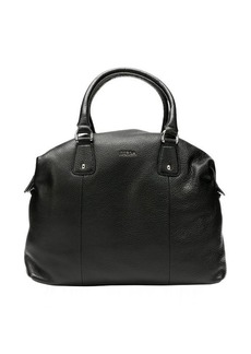 Furla onyx leather 'Raffaella' large satchel