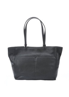 Furla onyx leather 'Raffaella' medium tote