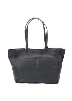 Furla onyx leather 'Raffaella' medium tote