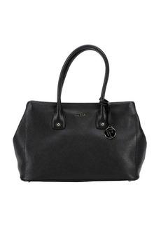 Furla onyx leather 'Serena' medium tote bag