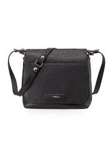Furla Patty Leather Crossbody Bag, Onyx