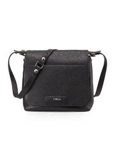 Furla Patty Leather Crossbody Bag, Onyx