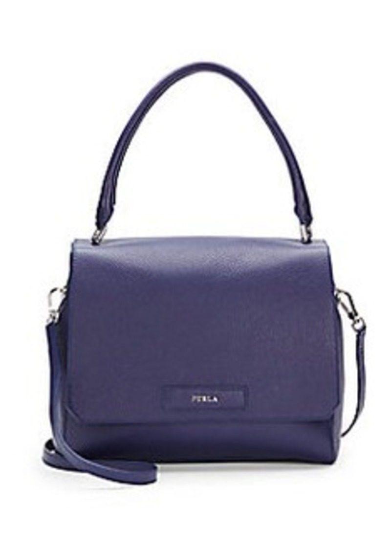 furla furla patty leather top handle satchel handbags shop it to me. Black Bedroom Furniture Sets. Home Design Ideas