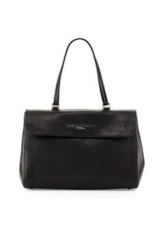 Furla Patty Leather Tote Bag, Onyx