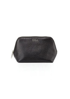Furla Pigalle Leather Cosmetic Case, Onyx