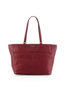 Furla Raffaela Medium Leather Tote Bag, Bordeaux