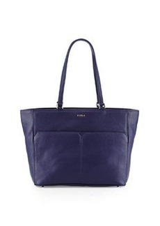 Furla Raffaela Medium Leather Tote Bag, Notturno