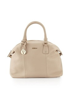 Furla Raffaella Large Leather Satchel Bag