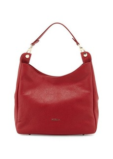 Furla Raffaella Leather Hobo Bag