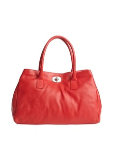 Furla red leather 'Appaloosa' large tote