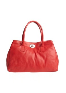 Furla red leather 'Appaloosa' large tote