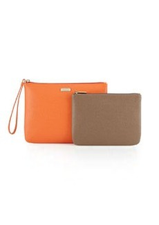 Furla Royal Wristlet/Pouch Set, Vitamina/Daino