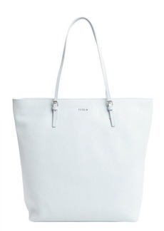 Furla rugiada blue leather 'D-Light' large tote