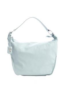 Furla rugiada pale blue leather 'Hope M Hobo' bag
