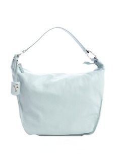 Furla rugiada pale blue leather 'Hope M Hobo' bag