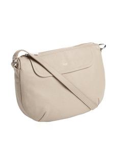Furla sabbia textured leather 'Wave' crossbody bag