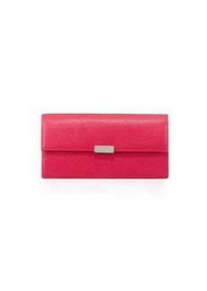 Furla Saffiano Trifold Wallet, Pink