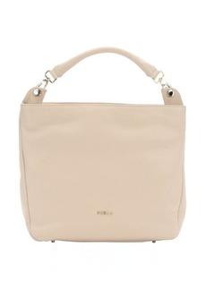 Furla sand leather 'Raffaella' large hobo bag