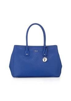 Furla Serena Leather Tote Bag, Ocean