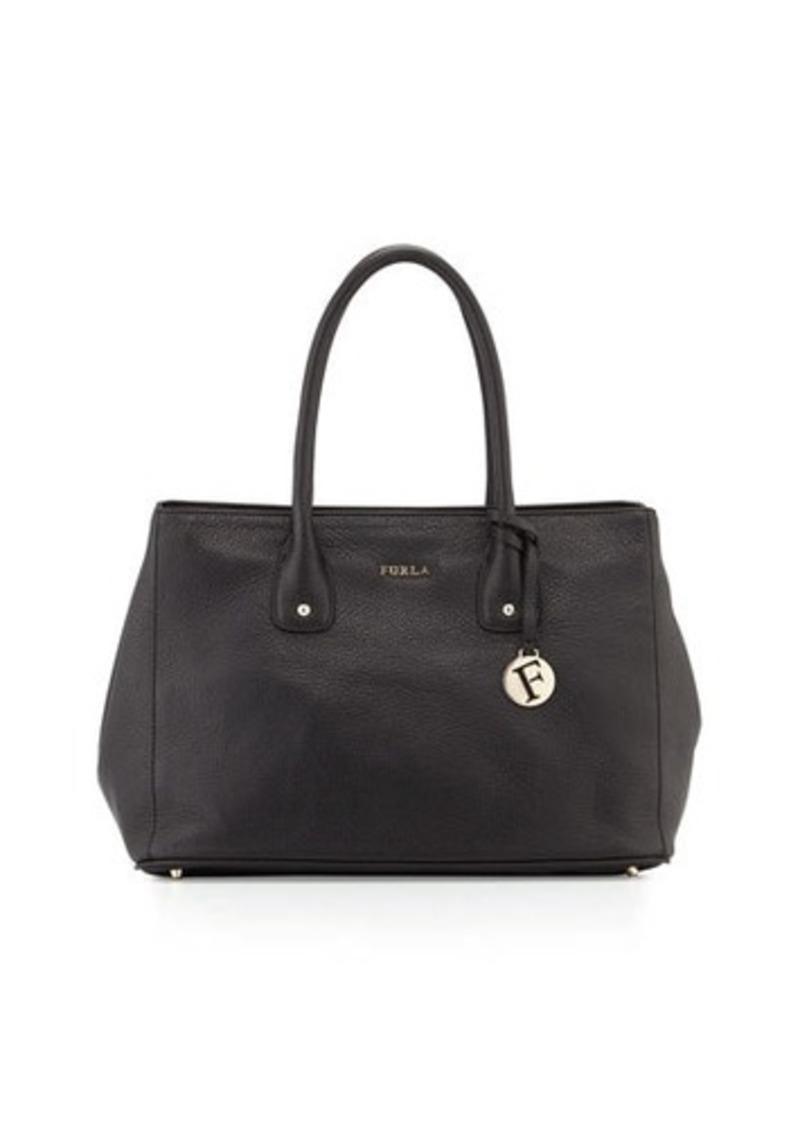 furla furla serena medium leather tote bag handbags shop it to me. Black Bedroom Furniture Sets. Home Design Ideas