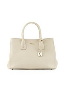 Furla Serena Small Leather Tote Bag, Marble