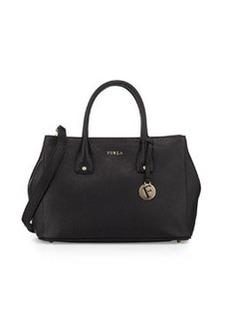 Furla Serena Small Leather Tote Bag, Onyx