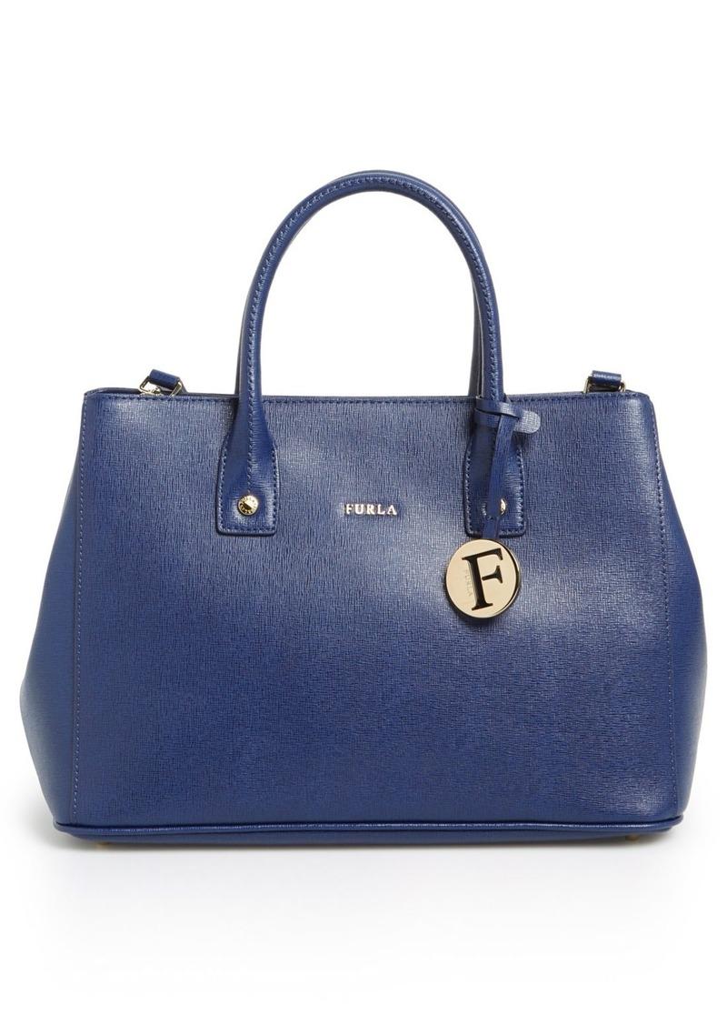 furla furla 39 small linda 39 leather tote handbags shop it to me. Black Bedroom Furniture Sets. Home Design Ideas