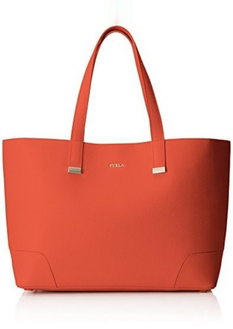 furla furla stacy large tote hibiscus coral one size handbags shop it to me. Black Bedroom Furniture Sets. Home Design Ideas