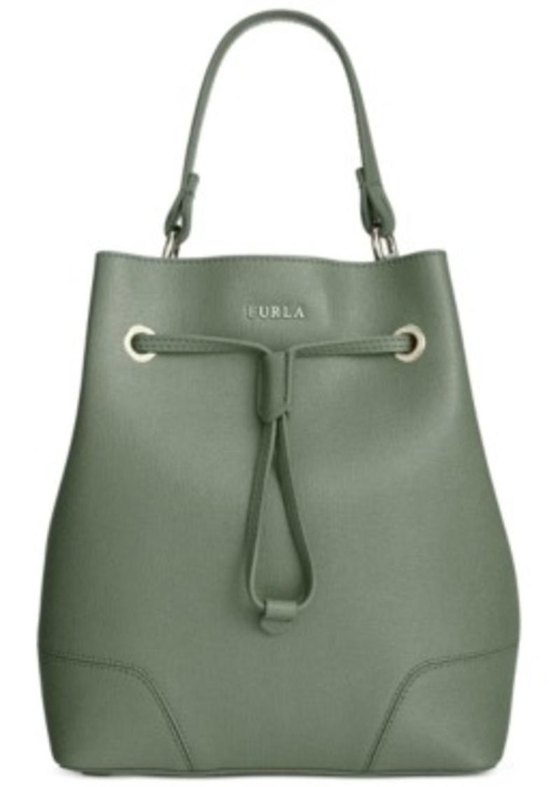 furla furla stacy small drawstring handbags shop it to me. Black Bedroom Furniture Sets. Home Design Ideas