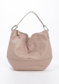 Furla taupe leather 'Manola' medium hobo bag