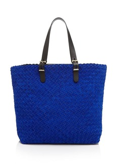 Furla Tote - Atelier Large Suede Woven