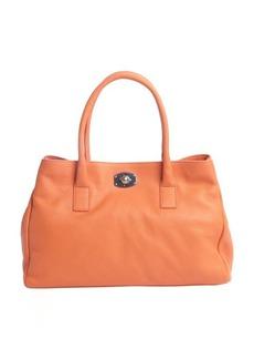 Furla vitamina orange leather 'New Appaloosa' large tote