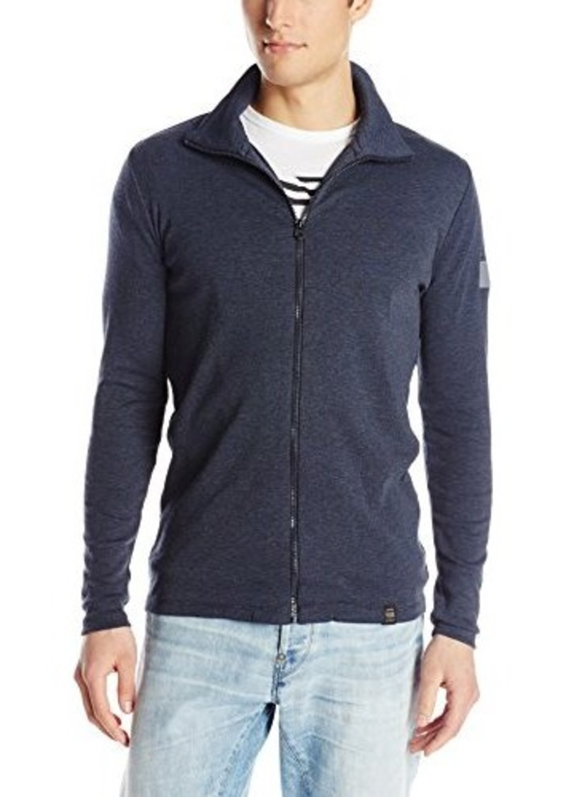 g star raw denim g star men 39 s aero rib collar sweater with. Black Bedroom Furniture Sets. Home Design Ideas