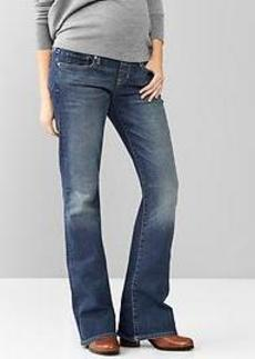 1969 demi panel sexy boot jeans