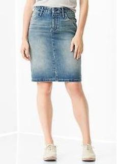 1969 denim pencil skirt