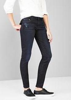 1969 destroyed always skinny jeans