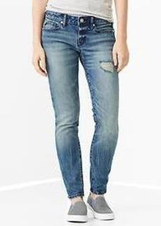 1969 destructed always skinny skimmer jeans