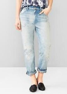 1969 destructed authentic boyfriend jeans