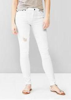 1969 destructed resolution true skinny high-rise jeans