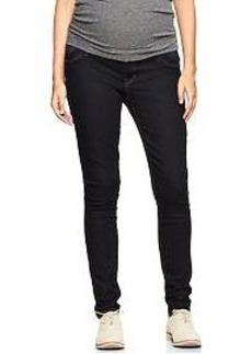 1969 elastic inset legging jeans