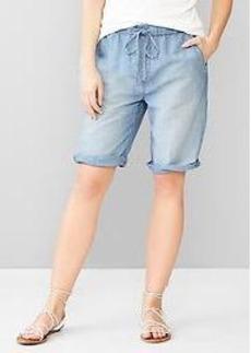 1969 linen denim board shorts