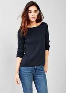 Boatneck A-line sweater