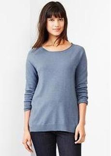 Boyfriend raglan sweater