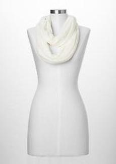 Burnout floral scarf