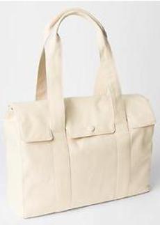 Canvas satchel